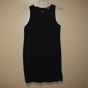 TOMMY BAHAMA Womens Sz M Black Eyelet Cotton DRESS